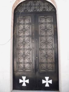 A door in Xanthi