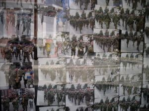 Photos of soldiers in Alexandroupoli