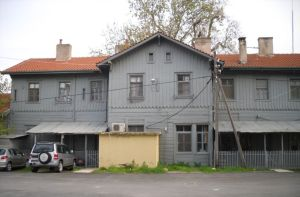 Alexandroupoli's old railway station
