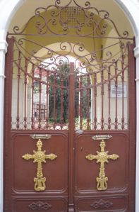 Church door in Kuzguncuk