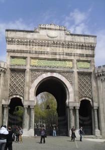 Istanbul University gate