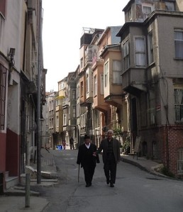 Old men in Fener - 2010 april 19